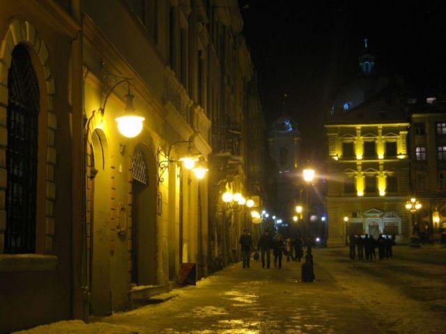 Zdjęcia: Lwów, nocą w Lwowie, UKRAINA
