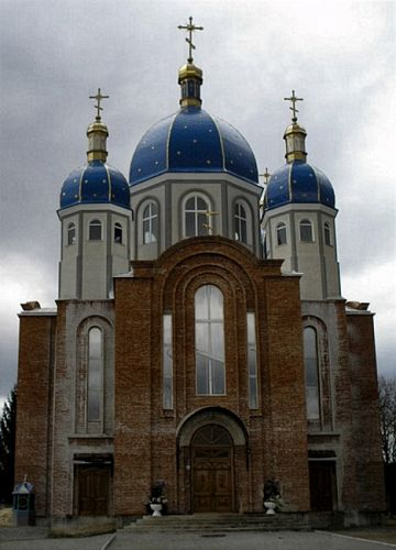 Zdjęcia: Borsziw, cerkwa, UKRAINA