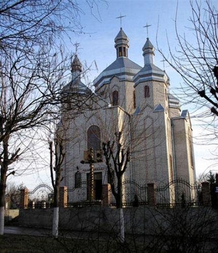 Zdjęcia: Borsziw, cerkwa , UKRAINA