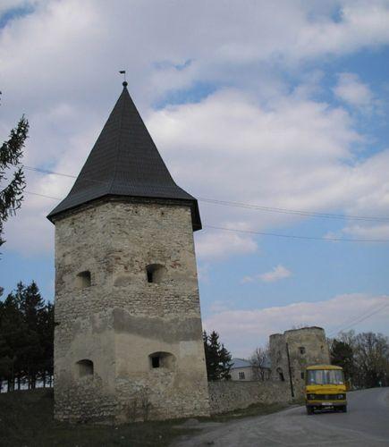 Zdjęcia: Kriwcze, fragment fortecy, UKRAINA