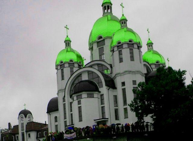 Zdjęcia: Zarwanica, sobór, UKRAINA