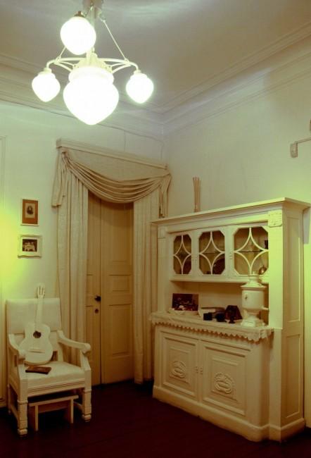 Zdjęcia: Andriejewskij Spusk (Zjazd), Kijów, Muzeum Michaiła Bułhakowa, jadalnia, UKRAINA