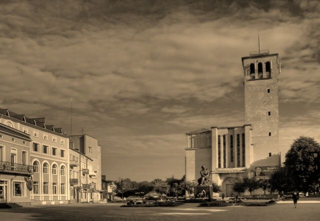 Zdjęcia: Sokal, centrum miasta, UKRAINA