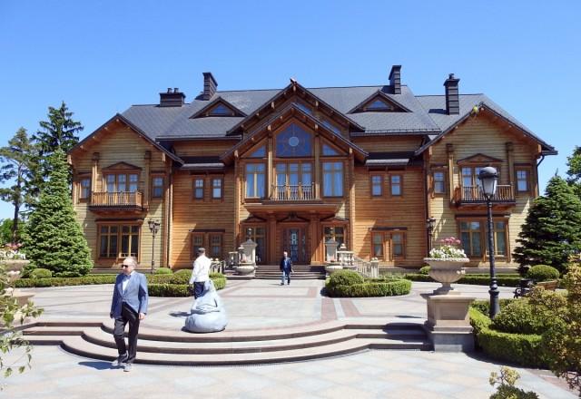 Zdjęcia: Meżihiria, Kijów, Willa Honka, UKRAINA