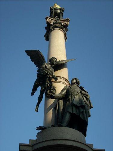 Zdjęcia: Lwów, Ukraina Zachodnia, Pomnik Adama Mickiewicza, UKRAINA