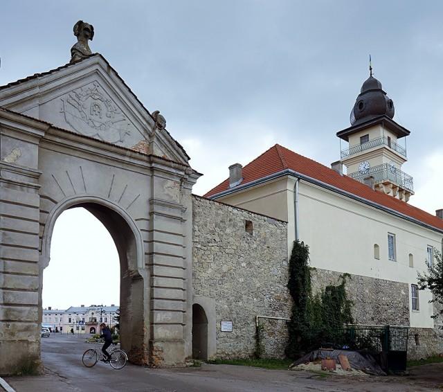 Zdjęcia: Żółkiew, Obwód Lwowski, Brama Glińska , UKRAINA