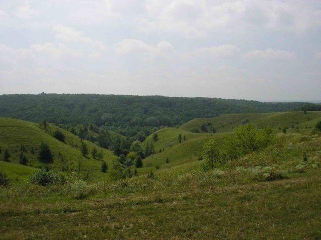 Zdjęcia: kaniw, czerkawski, rajd po ukrainie, wido z tarasowej góry, UKRAINA