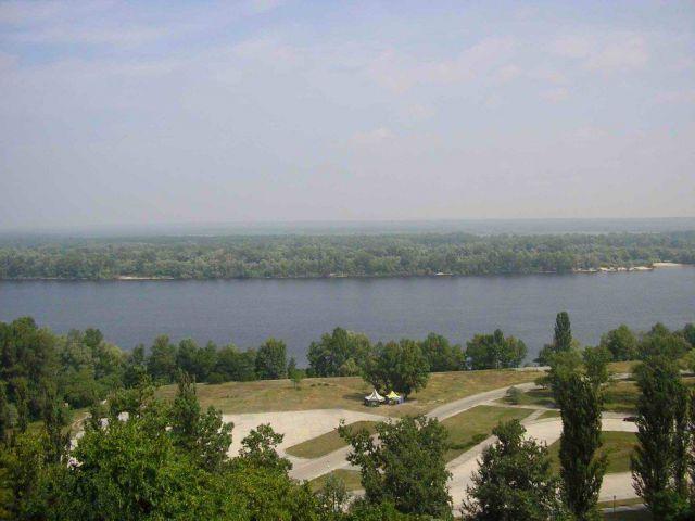 Zdjęcia: kaniw, czerkawski, rajd po ukrainie,widok z tarasowej góry, UKRAINA
