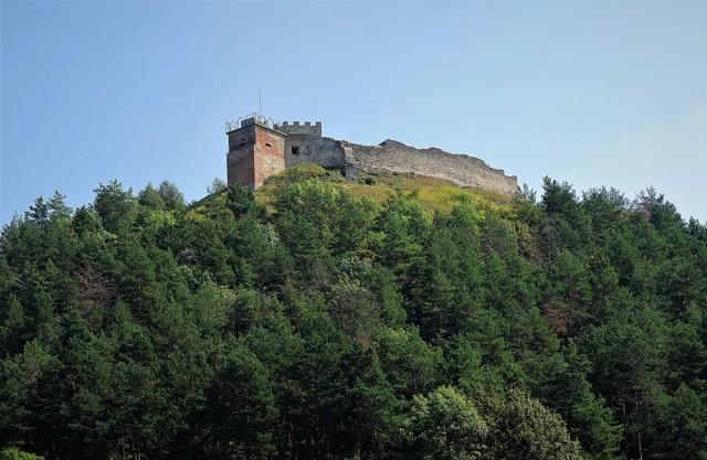 Zdjęcia: Krzemieniec, Obwód Tarnopolski, Góra Królowej Bony z ruinami zamku, UKRAINA
