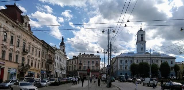 Zdjęcia: Czerniowce, Bukowina, Czerniowce ratusz, UKRAINA