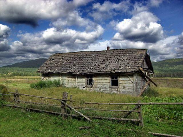 Zdjęcia: Antoniwka, mały stary domek, UKRAINA