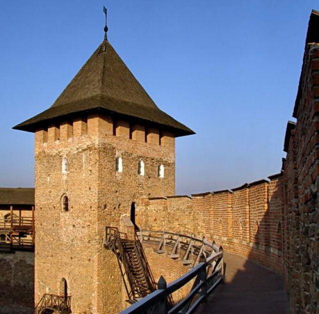 Zdjęcia: Łuck, fragment murów, UKRAINA