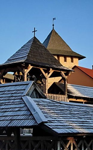 Zdj�cia: �uck, widok na fragment dachu, UKRAINA