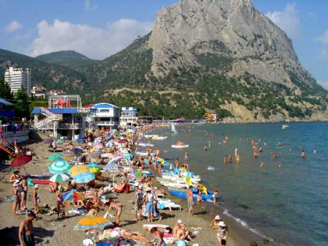 Zdjęcia: Nowy Świat, Krym, Plaża w Nowym Świecie, UKRAINA