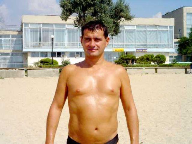 Zdjęcia: Eupatoria, Krym, pusta plaża w Eupatorii na Czajce na początku września, UKRAINA