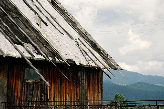 Zdjęcia: okolice Worochty, Czarnohora, dom w górach, UKRAINA