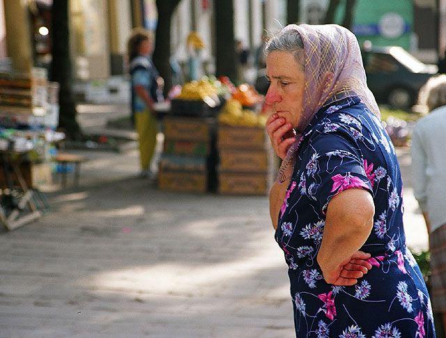 Zdjęcia: Lwów, Ukraina Zachodnia, rynok..., UKRAINA