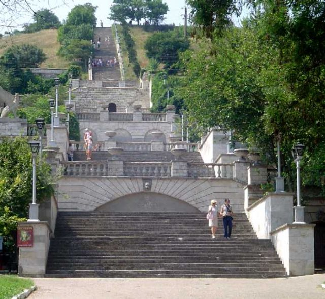 Zdj�cia: Kercz, Krym, Schody Mitrydatesa w Kerczu, UKRAINA