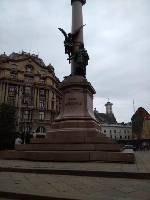 Zdjęcia: Lwów, Lwów, Pomnik Adama Mickiewicza, UKRAINA