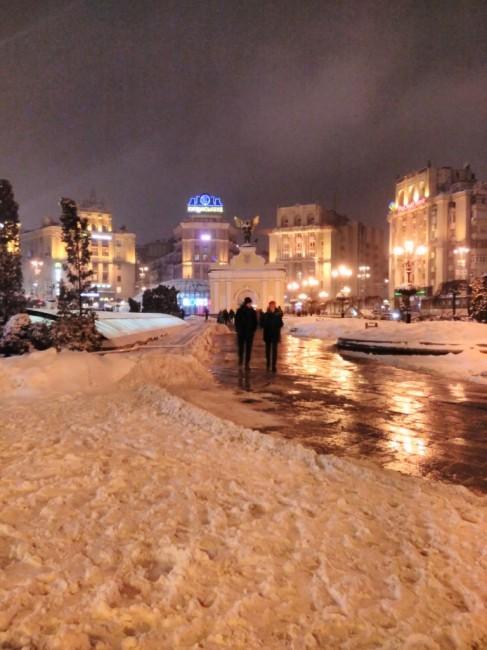 Zdjęcia: Majdan Niepodleglośći, Kijów, Plac Niepodległośći, UKRAINA