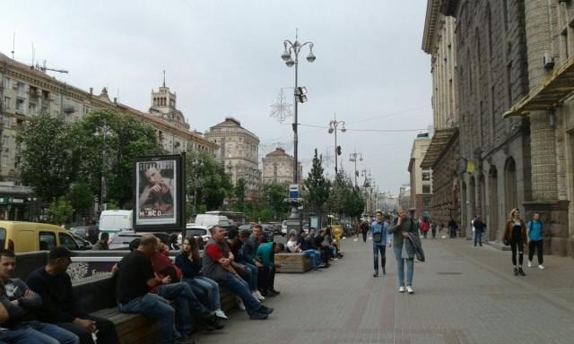 Zdjęcia: Ul. Chreszczatyk, Kijów, Ul. Chreszczatyk, UKRAINA