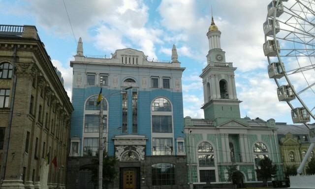 Zdjęcia: Plac Kontraktowy, Kijów, Kościół św. Katarzyny-1, UKRAINA