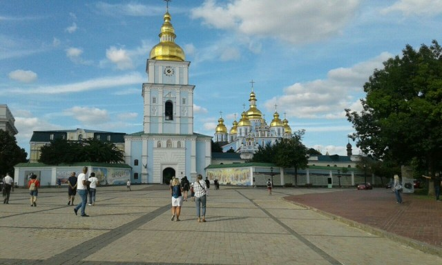 Zdjęcia: Ul. Trzechświatytelska, 6, Kijów, Klasztor św. Michała w Kijowie-4, UKRAINA