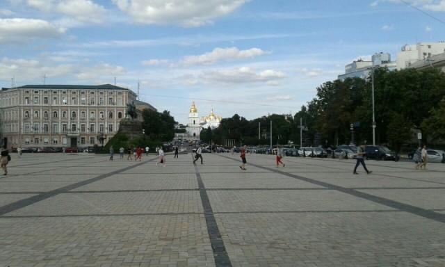 Zdjęcia: Plac Sw. Zofii w KIjowie, Kijów, Plac Sw. Zofii w KIjowie, UKRAINA