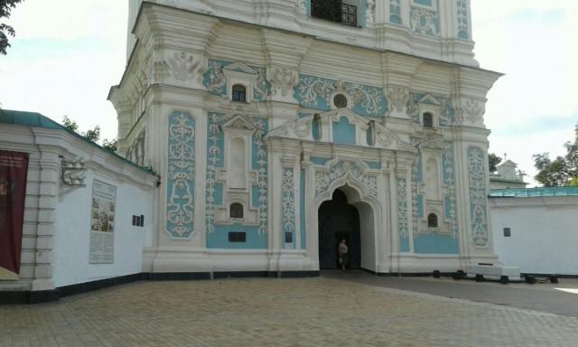 Zdjęcia: Plac Sw. Zofii w KIjowie, Kijów, Brama koscielna sw. Zofii w Kijowie, UKRAINA