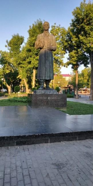 Zdjęcia: Plac Kontraktowy, Kijów, Pomnik G. Skoworodzie, UKRAINA