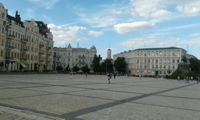 Zdjęcia: Plac Zofii, Kijów, Plac sw. Zofji, UKRAINA
