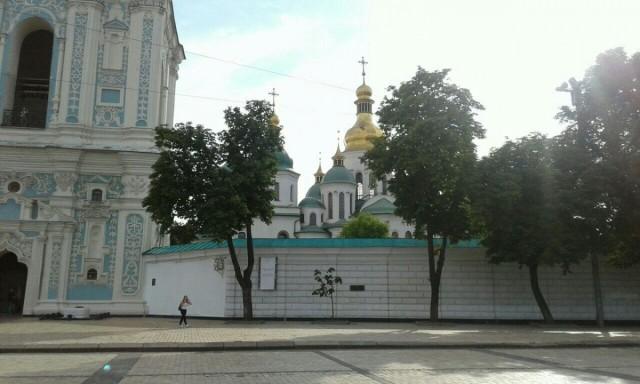Zdjęcia: Plac Sofijowski, Kijów, Katedra Sofia Kijowska-2, UKRAINA