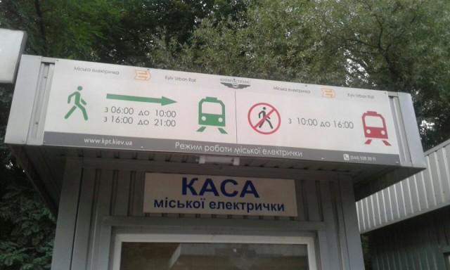 Zdjęcia: Park Nywki, Kijów, Pociąg miejski w Kijowie-2, UKRAINA