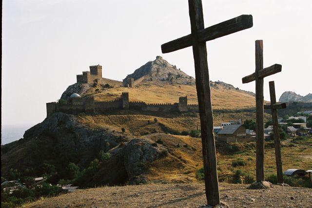 Zdjęcia: Krym, Twierdza genueńska Sudak, UKRAINA