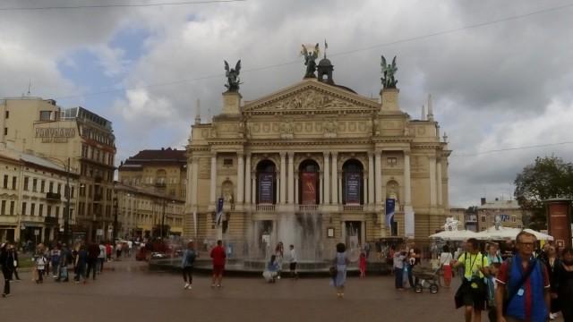 Zdjęcia: Lwów, Opera we Lwowie, UKRAINA