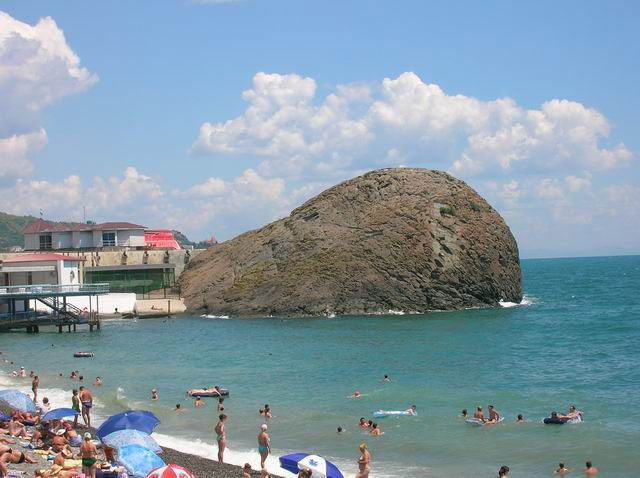 Zdjęcia: Krym, Nabrzeże w Partenicie, UKRAINA