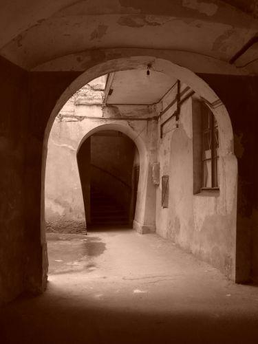 Zdjęcia: Lwów, w bramie, UKRAINA