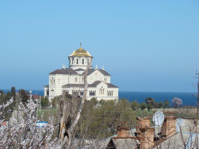 Zdjęcia: Sewastopol, Krym, Chersones Taurydzki - Sobór św. Włodzimierza, UKRAINA