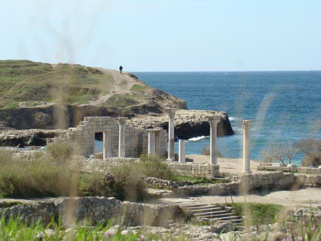 Zdjęcia: Sewastopol-kolonia grecka, KRYM, zabudowa antycznego Chersonesu, UKRAINA