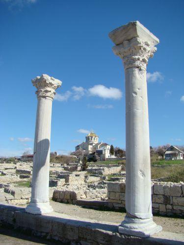 Zdjęcia: Sewastopol-kolonia grecka, KRYM, W Chersonesie, UKRAINA