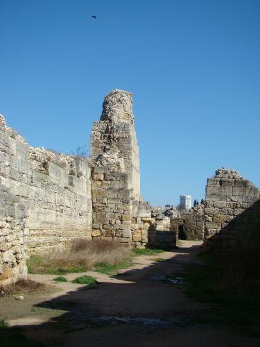Zdjęcia: Sewastopol-kolonia grecka, KRYM, W Chersoneskiej cytadeli, UKRAINA