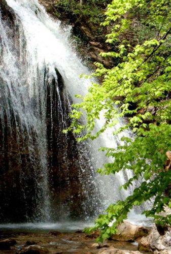 Zdjęcia: Góry Krymu, Krym, Wodospad, UKRAINA