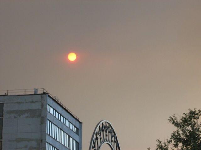 Zdj�cia: okolice miejscowo�ci Herson, kula na niebie, UKRAINA