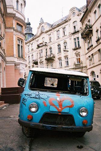 Zdjęcia: ulica lwowa, lwów, akcent lwowski, UKRAINA