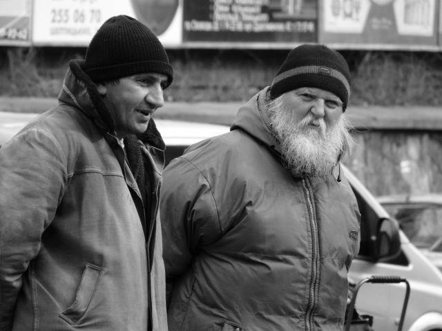 Zdjęcia: Lwów, Handlarze książkami (pod Fedorowem), UKRAINA