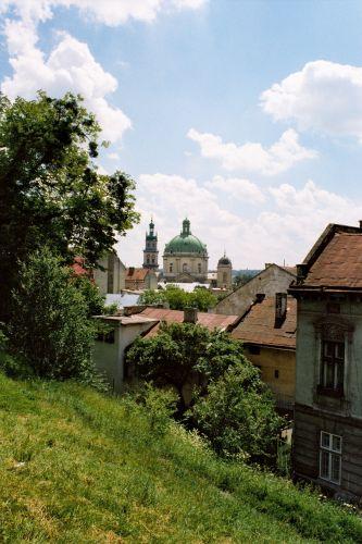 Zdjęcia: LWÓW, widoczek z wzgórza zamkowego, UKRAINA