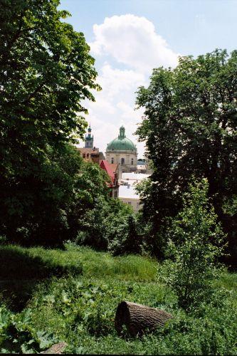 Zdj�cia: LW�W, widok ze wzg�rza zamkowego -2, UKRAINA