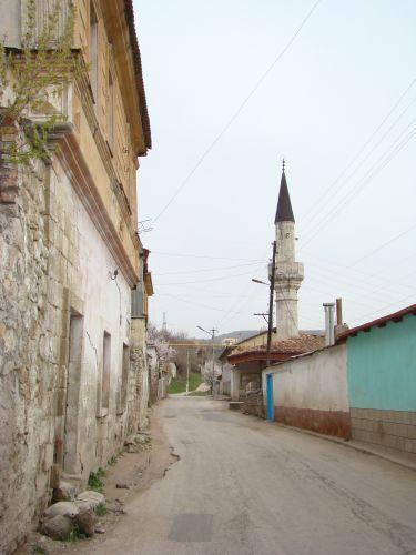 Zdjęcia: BAKCZYSARAJ, KRYM, Nastrojowe uliczki Bakczysaraju, UKRAINA
