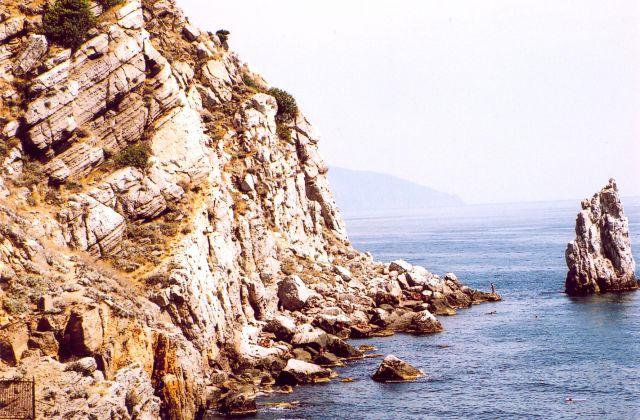 Zdjęcia: Gaspra, Krym, Plaża, UKRAINA