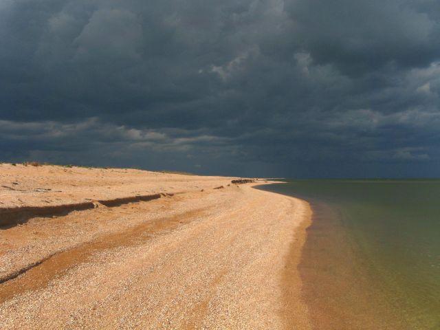 Zdjęcia: Arabatska Striełka , Plaża - Krym, UKRAINA